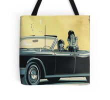 Continental Illustration Tote Bag