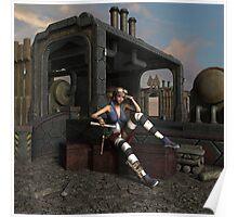 Steampunk Blaze  Poster