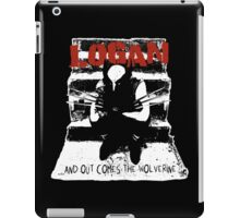 ...And Out Comes The Wolverine - Variant iPad Case/Skin
