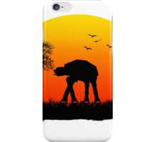 AT-AT. Left to roam free iPhone Case/Skin