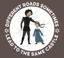 Different Roads Sometimes Lead To The Same Castle Kids Clothes