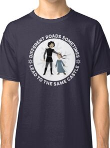 Different Roads Sometimes Lead To The Same Castle Classic T-Shirt