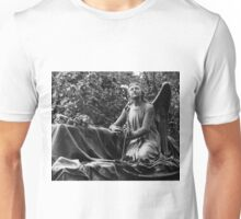 Angel with grave Unisex T-Shirt
