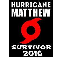 Hurricane Matthew Photographic Print