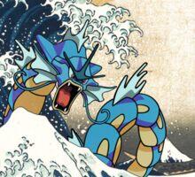 Great Wave of Gyarados Sticker