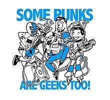 Geek Punk Photographic Print