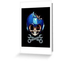 Mega Dead Man Greeting Card
