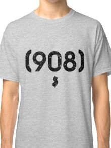 Area Code 908 New Jersey Classic T-Shirt