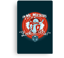 Merrie Mr. Meeseeks - shirt Canvas Print