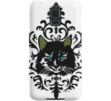 cat nap damask Samsung Galaxy Case/Skin