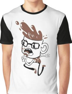 Coffee Blabber Graphic T-Shirt