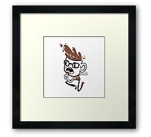 Coffee Blabber Framed Print