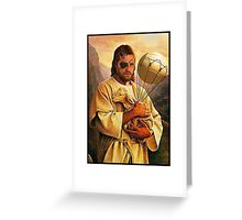 Venom Jesus Snake Greeting Card
