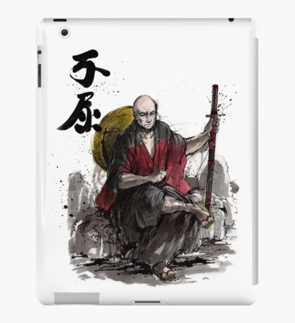 Captain Picard Samurai tribute iPad Case/Skin
