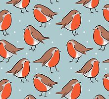 Round Robin - bird pattern  by Zoe Lathey