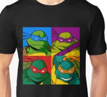 Teenage Mutant Ninja Warhol Unisex T-Shirt