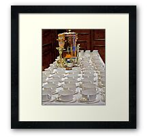 For the Morning Joe Framed Print
