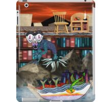 Books are just words on paper until your imagination gives them wings iPad Case/Skin