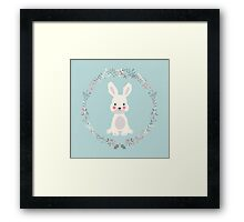 Cute bunny, 02 Framed Print