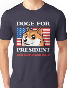 Doge For President Unisex T-Shirt