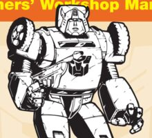 Owners' Manual - Bumblebee (Transformers) - Poster & stickers Sticker