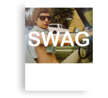 Michael Cera Swag Canvas Print