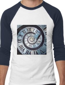Through time and space... Men's Baseball ¾ T-Shirt