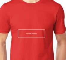 Resume Viewing Unisex T-Shirt