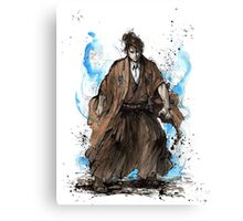 Doctor Who Samurai Tribute Canvas Print