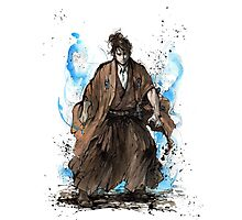 Doctor Who Samurai Tribute Photographic Print