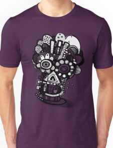 All Nighter - Day of The Dead Mask  Unisex T-Shirt