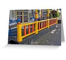 Porch Ladder Greeting Card