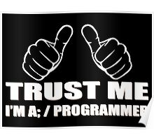 Trust me Im a Programmer - Programming Poster