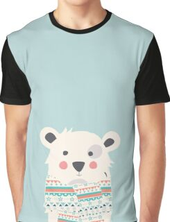 Cute polar bear with scarf Graphic T-Shirt