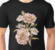 Pink Country Rose Unisex T-Shirt