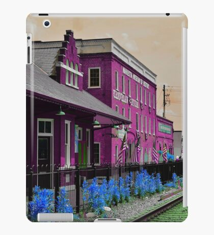 Walking through my technicolor daydream iPad Case/Skin