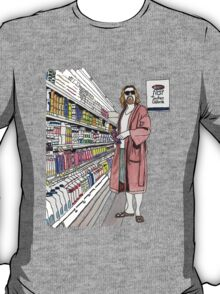 Jeffrey Lebowski and Milk. AKA, the Dude. T-Shirt