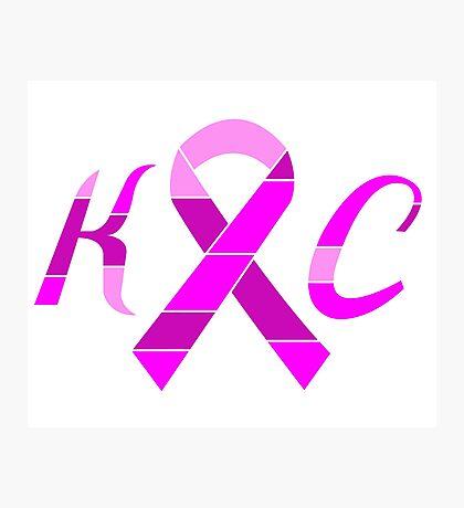 KC Breast Cancer Awareness Photographic Print