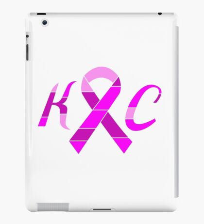 KC Breast Cancer Awareness iPad Case/Skin
