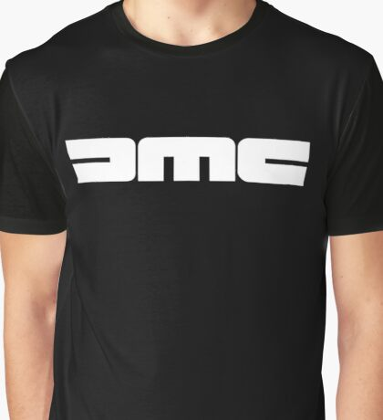 DMC Delorean Motor Company logo Graphic T-Shirt