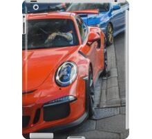 Porsche 991 GT3RS & Subaru WRX STI iPad Case/Skin