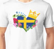 This is the Ornate Swedish Emblem.  Unisex T-Shirt