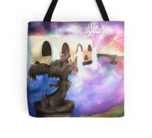 In The Courtyard Of Parfum Palace Tote Bag