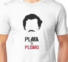 Pablo: plata o plomo Unisex T-Shirt