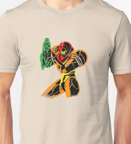 Samus in Varia Suit Unisex T-Shirt