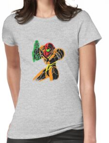 Samus in Varia Suit Womens Fitted T-Shirt