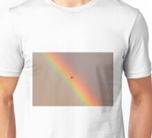 I wonder what it is like to touch a rainbow? Unisex T-Shirt