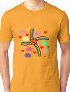 Rainbow Love Utopia Unisex T-Shirt