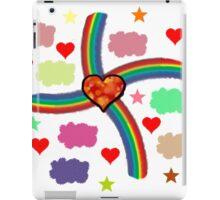 Rainbow Love Utopia iPad Case/Skin