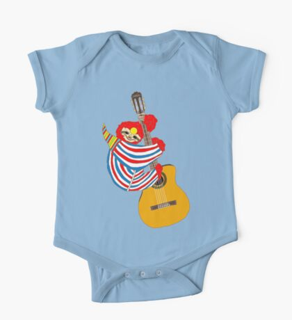 Bowie Sloth Vintage Guitar One Piece - Short Sleeve